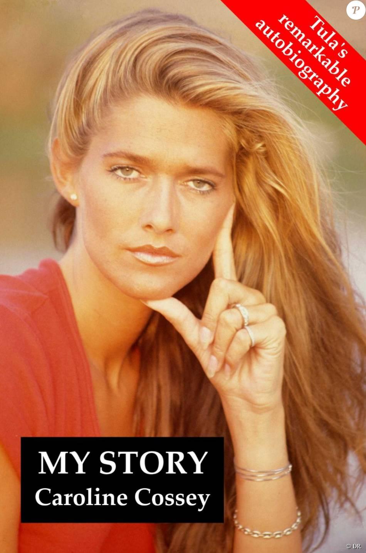 """Caroline """"Tula"""" Cossey en couverture de sa biographie intitulée """"My Story""""."""