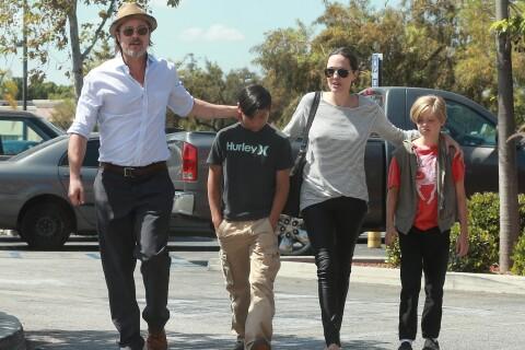 Angelina Jolie et Brad Pitt : Virée glaciale pour l'anniversaire des jumeaux