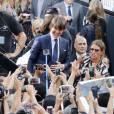 Tom Cruise à la première de 'Mission Impossible: Rogue Nation' à New York, le 27 juillet 2015.
