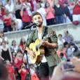 """Exclusif - Le chanteur Kendji Girac - Enregistrement de l'émission """"La Chanson de l'Année, Fête de la Musique"""" à Nîmes présentée par Nikos Aliagas pour TF1 le 20 juin 2015."""