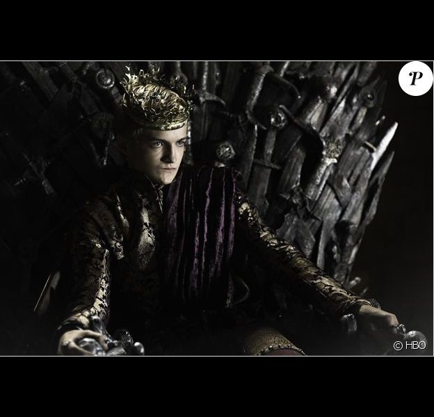 Jack Gleeson, alias Joffrey Baratheon, dans Game of Thrones