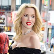 Scarlett Johansson, blonde incandescente figée pour l'éternité...