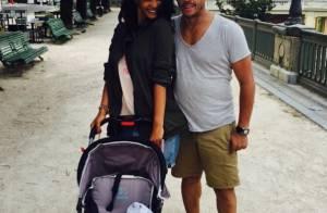 JoeyStarr : Papa comblé en vacances avec sa chérie et leur petit Marcello
