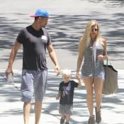 Fergie et Josh Duhamel : Balade complice avec leur adorable Axl