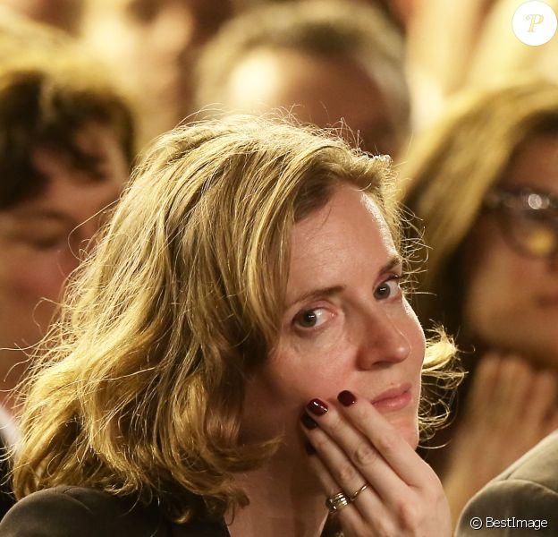 Nathalie Kosciusko-Morizet lors d'une réunion publique de Nicolas Sarkozy, président de l'UMP, à Saint-Maur-des-Fossés le 9 Mars 2015