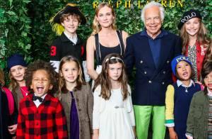 Diane Kruger : Spectatrice chic d'un défilé pour enfants