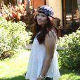 L'actrice Madison De La Garza dans la campagne vidéo Healthy is the new skinny. Mars 2015