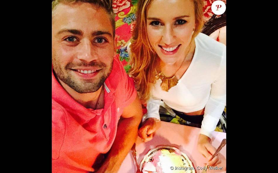 Cody Walker et Felicia, sur Instagram. Août 2015