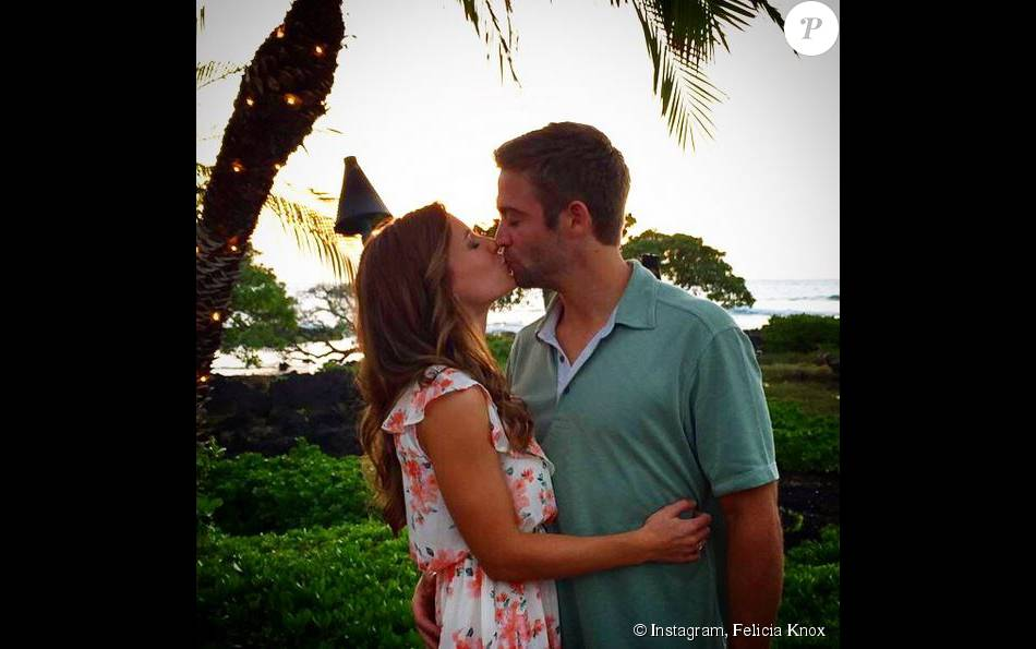 Cody Walker et sa belle Felicia, sur Instagram. 2015
