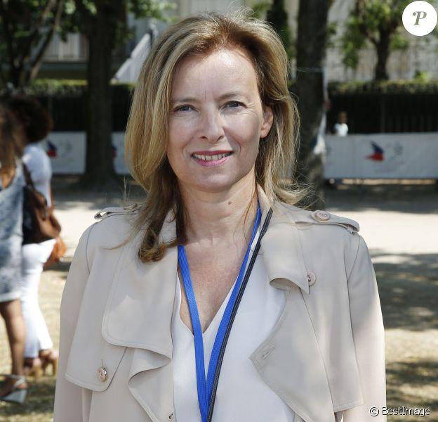Valérie Trierweiler - 70 ans du Secours populaire et 36e journée des oubliés des vacances, à Paris, le 19 août 2015
