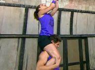Rayane Bensetti : Quand Denitsa lui grimpe dessus... Un beau moment de partage !