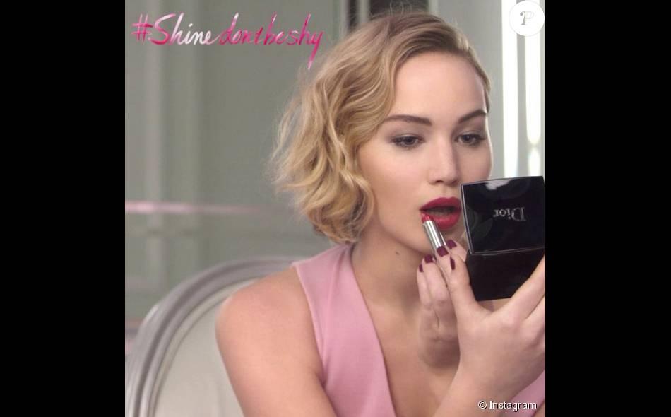 Jennifer Lawrence dans le spot Dior pour Dior Addict