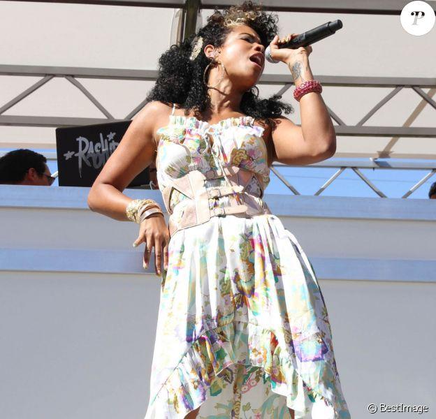 Kelis en concert au Palms, le 20 avril 2012.