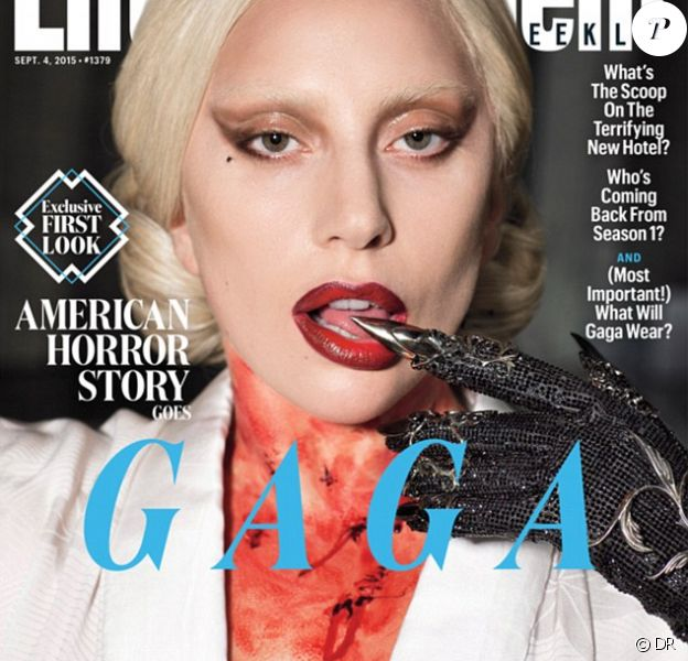 Lady Gaga en couverture du magazine Entertainment Weekly.