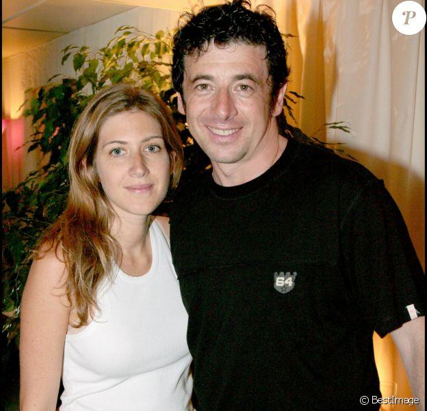 Patrick Bruel et Amanda Sthers en 2007 après un concert à Paris