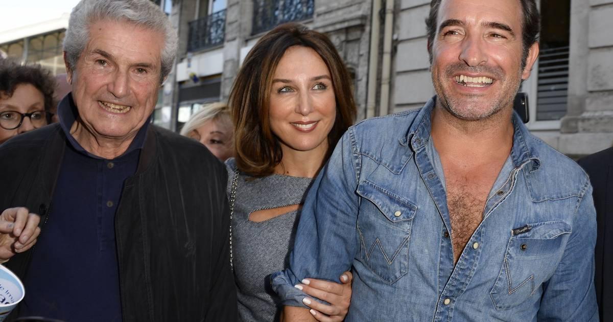 Claude lelouch elsa zylberstein et jean dujardin lors de for Jean dujardin 99 francs streaming