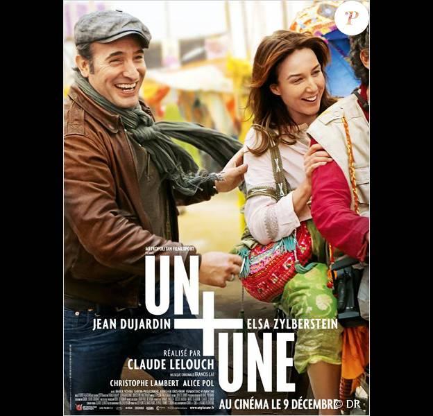 Affiche du film Un + Une, en salles le 9 décembre 2015