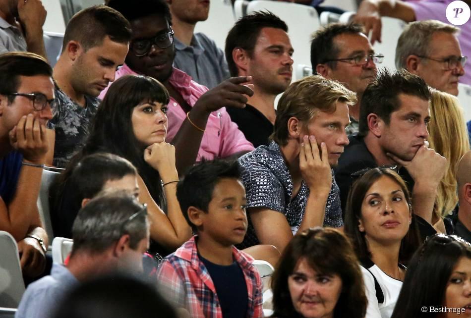Exclusif candice pascal et son compagnon le footballeur cl ment chant me assistent en - Tatiana silva et son compagnon ...