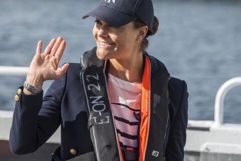 Princesse Victoria : D'eau et d'air frais, sa fin de mois d'août avec son père