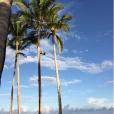 Haylie Duff est en vacances avec sa fille Ryan et son fiancé Matt Rosenberg à Hawaii / photo postée sur le compte Instagram de la chanteuse américaine.