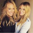 Haylie Duff et sa soeur Hilary / photo postée sur le compte Instagram de la chanteuse américaine.