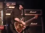 Motörhead : Trop malade, Lemmy Kilmister quitte la scène en plein concert...