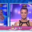 Rémi et Emilie, dans  Secret Story 9  l'hebdo, le vendredi 4 septembre 2015 sur TF1.