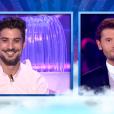 Ali et Christophe Beaugrand, dans  Secret Story 9  l'hebdo, le vendredi 4 septembre 2015 sur TF1.