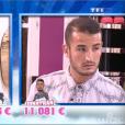 Tony et Jonathan, dans  Secret Story 9  l'hebdo, le vendredi 4 septembre 2015 sur TF1.