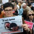 Manifestation Place de la République à Paris, en faveur des réfugiés, le 5 septembre 2015
