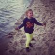 Gideon le fils de Neil Patrick Harris / photo postée sur Instagram.