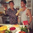 Neil Patrick Harris et son mariDavid Burtka / photo postée sur Instagram.