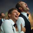 Neil Patrick Harris etDavid Burtka fêtent leur premier anniversaire de mariage / photo postée sur Instagram.