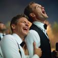 Neil Patrick Harris et David Burtka aux 87e Academy Awards le 22 févirer 2015.