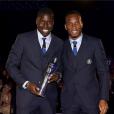 Kurt Zouma et Didier Drogba, photo publiée le 27 mai 2015