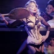 """Arielle Dombasle : En guêpière pour le clip """"My Love For Evermore"""""""