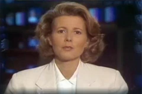 """Claire Chazal, son premier JT en 1991 : """"Je crois qu'elle avait pris un calmant"""""""