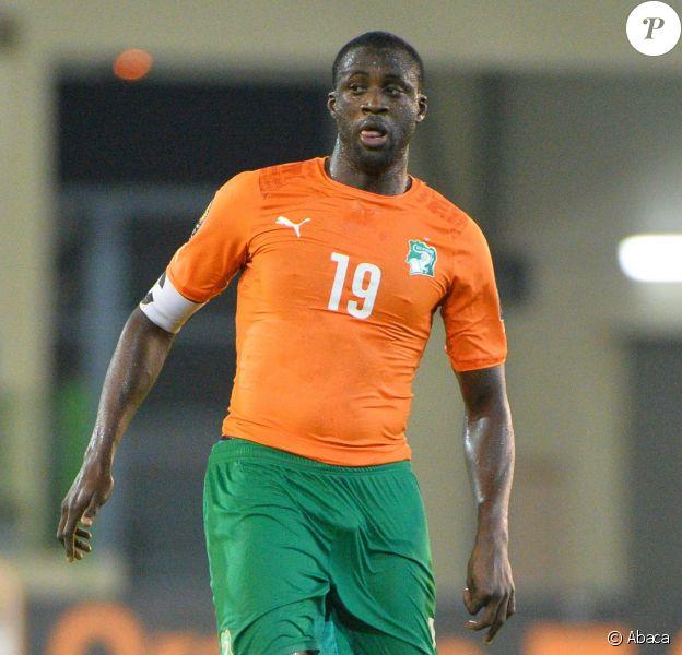Yaya Touré en janvier 2015 durant la Orange Africa Cup of Nations Final soccer à Malabo, en Guinée