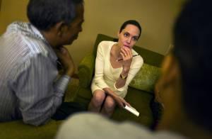 Angelina Jolie émouvante :