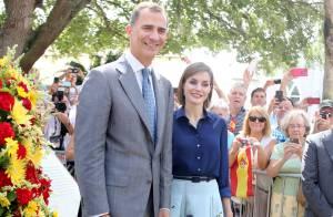 Letizia d'Espagne, divine en bleu au côté de Felipe : Fin de périple, épique