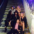 Selena Gomez et ses copines à Londres / photo postée sur Instagram.
