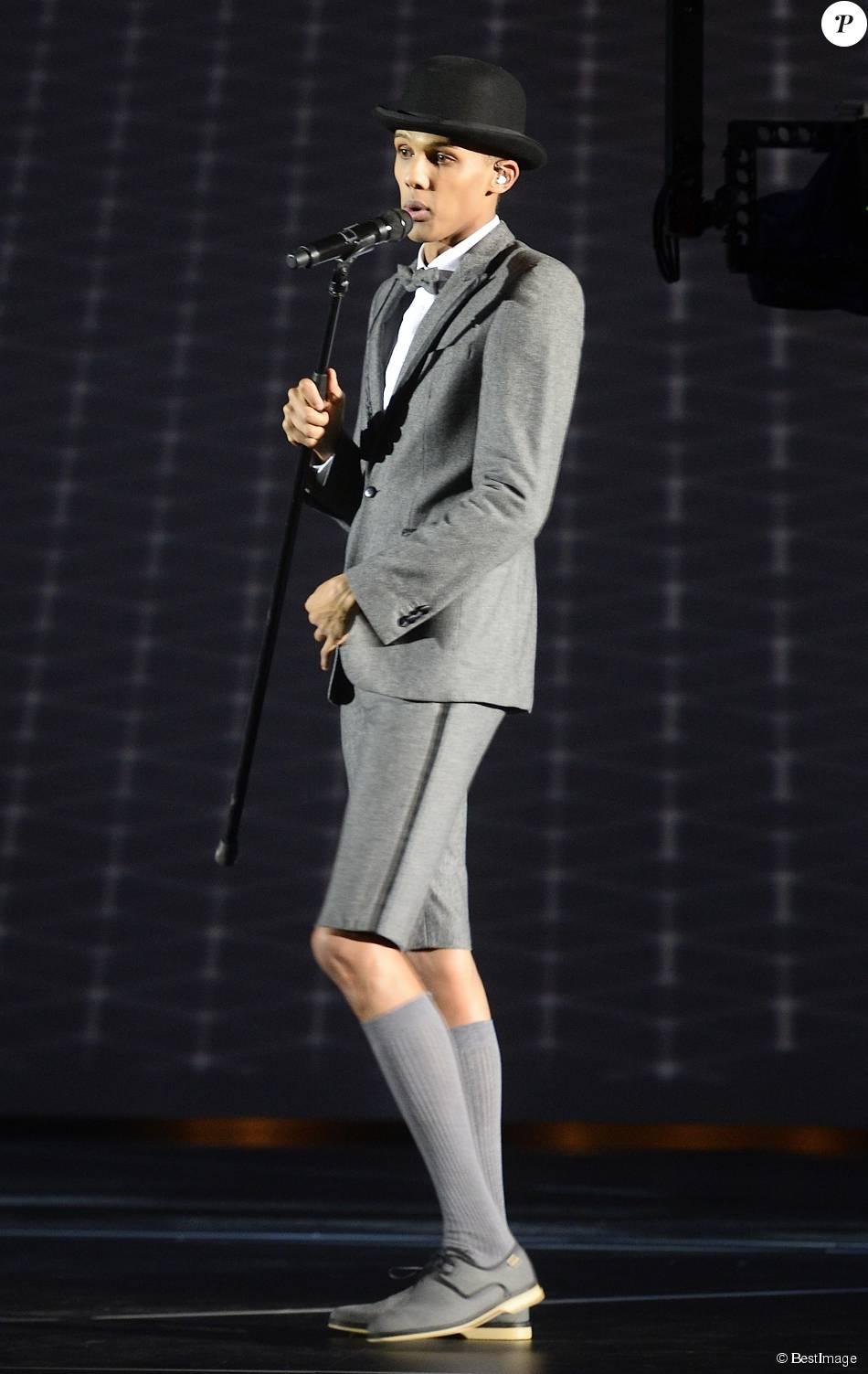 Stromae - Soirée des 30ème Victoires de la Musique au Zénith de Paris, le 13 février 2015.