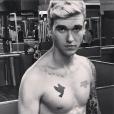 Gabriel-Kane Day-Lewis sur le réseau Instagram. Septembre 2015.