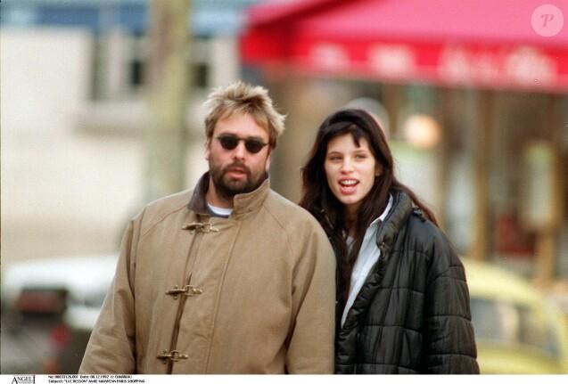 Luc Besson et Maïwenn en 1992