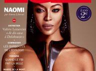 """Naomi nue pour """"Lui"""" : La Campbell au top du haut de ses 45 ans"""
