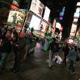 Amélie Neten et son amoureux en vacances à New York. Septembre-octobre2015.