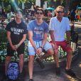 Ryan Malgarini a rajouté une photo de lui en famille à Disney sur sa page Instagram
