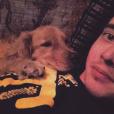 Ryan Malgarini a rajouté une photo de lui avec son chien sur sa page Instagram