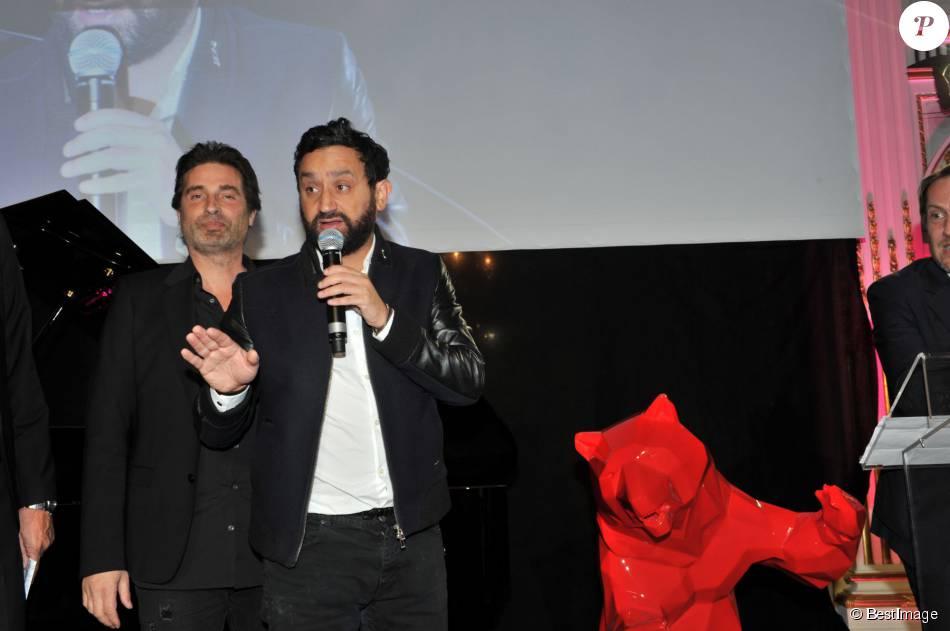 Exclusif - Richard Orlinski, Cyril Hanouna - Dîner de gala au profit de la Fondation ARC pour la recherche contre le cancer du sein à l'hôtel Peninsula à Paris le 1er octobre 2015.