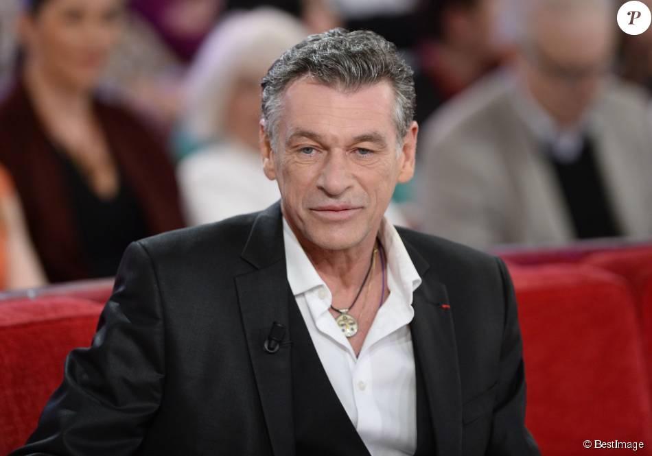 Patrick Dupond dans l'émission  Vivement Dimanche  à Paris le 1er avril 2015.